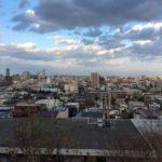 解体前の建物からの眺望